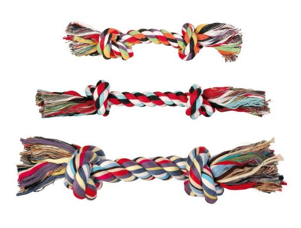 zabawki dla psa sznur trixie
